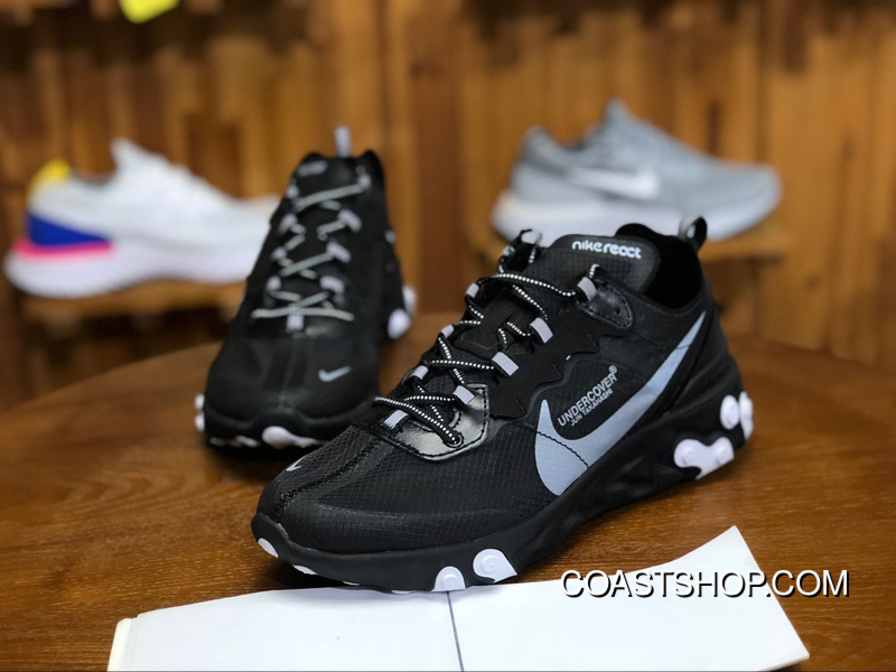 official photos 108ee 64bbf 220 Nike 87 Collaboration Series UNDERCOVER X REACT ELEMENT Men Shoes  AQ1813-001 Size New
